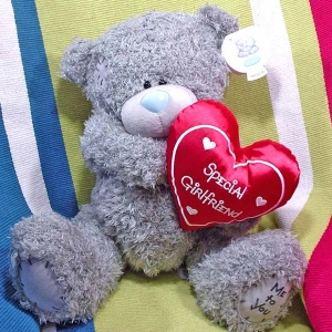 "Add-on 12 Inches ""Me to u"" bear (Special Girlfriend)"