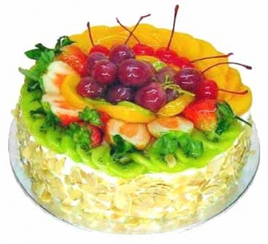 Add-on 2 kg Mixed fruits cake