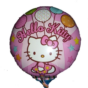 Add-on 9 inches Hello kitty foil ballon