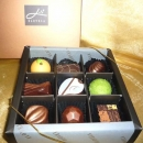 "Add-On ""Elovela"" Gourmet (Fresh)Chocolate 9 pcs"