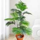 Artificial Palm Tree 115cm With Plastic Pot