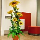 Artificial SunFlower Plant 150cm Height