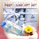 10 Pieces Gift Set (Blue) & Gerbera Flower