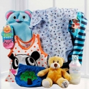 Baby Boy Gift-Set BB060 With Elephant Bag