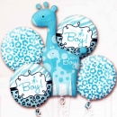 """It's a Boy!"" Floating Helium Bouquet Balloons ( 5pcs )"