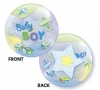 "Add-On 22"" Helium Filled (BABY BOY AIRPLANES) Floating Balloon"