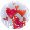 Add-On 3D Special Floating Heart Balloon