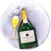 Add-On 3D Special Floating Champagne Balloon