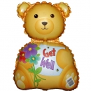 Add-On Get Well Bear 9 inches