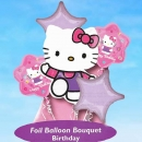 "Add-On 18"" Helium Filled (Hello Kitty Bouquet) Mylar Floating Balloon"