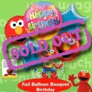 Add-On Elmo Birthday Floating Bouquet Balloon ( 5pcs )