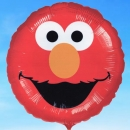 Add-on 18 Inches Elmo Helium Filled Mylar Floating Balloon