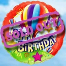 "Add-On 18"" (Hot-Air Balloon) Birthday Floating Balloon"