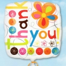 "Add-On 18"" Square Shape ( Thank You ) Balloon"