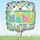 Add On 9 inches Baby Balloon.