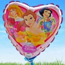 "Add-on 9"" Heart Shape princess balloon"