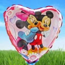 Add-on Mickey n minnie mouse 9 inches foil balloon