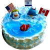 Add-On 0.5 Kg Nemo Ocean Cake