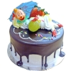 Add-On Clown On Chocolate Cake 1 Kg