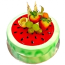 "Add-On ""Watermelon"" fruit cake 1 kg"