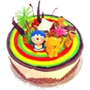 "Add-on ""Rainbow Connection""Sponge Cake 1Kg"
