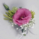 Pink Eustoma Corsage ( Add-On Only, No Delivery )