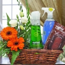 Method� Cleaning Products Gift Basket & Roses