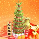 8 Layers Lucky Bamboo Special decorated with Gold Ingot