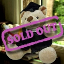 Add-on 13'' Sitting Graduation Bear
