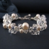 Bracelet - Grace-B Cream Rose