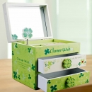 Clover Wish Musical Box