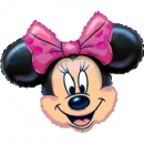 Add-on Helium filled 24 inches (Minnie-Mouse) Mylar Balloon
