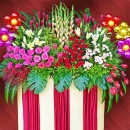 Grand Opening Flowers Stand 6 feet height