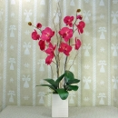 Artificial Phalaenopsis Pink Orchid Table Arrangement