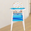 Baby Tea Time High Chair ( Blue )