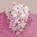 Wedding Car Pink Flowers decoration ( Pls Call Us )