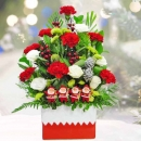 Christmas Flower Arrangement Delivery