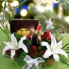 XO Christmas Flowers