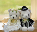 Add-on 8 Inches Wedding Bears